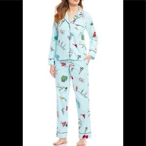 NIB Kate Spade ♠️ Aqua Lights Pajama Set Medium